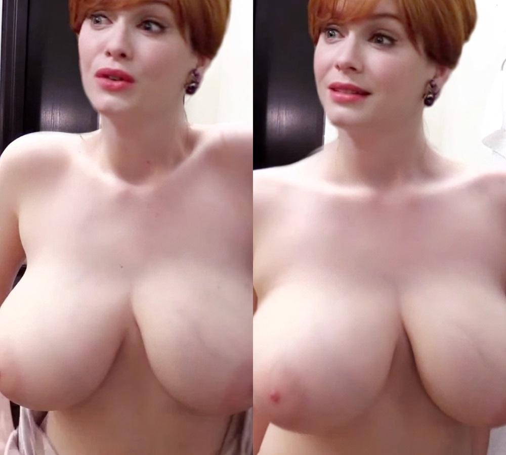 Christina Hendricks nude topless