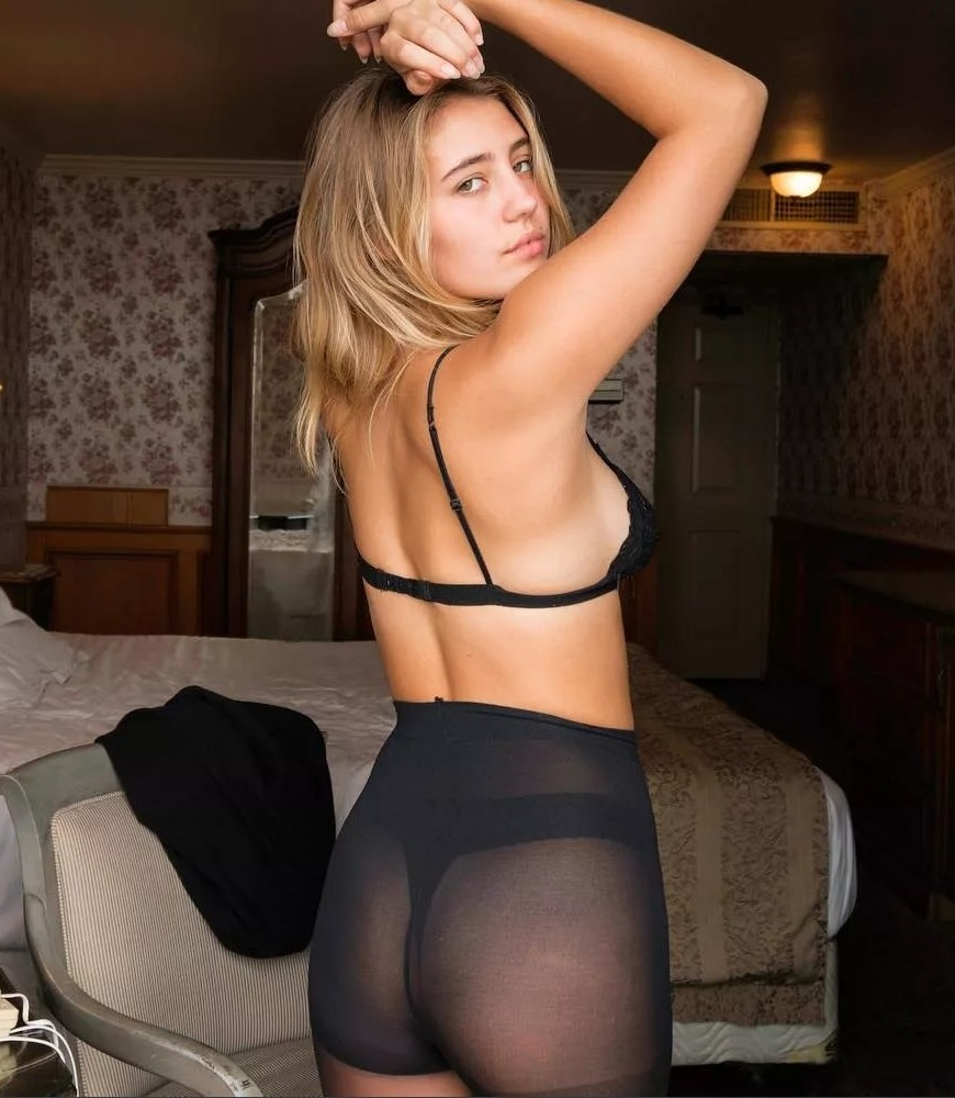 Lia Marie Johnson thong ass