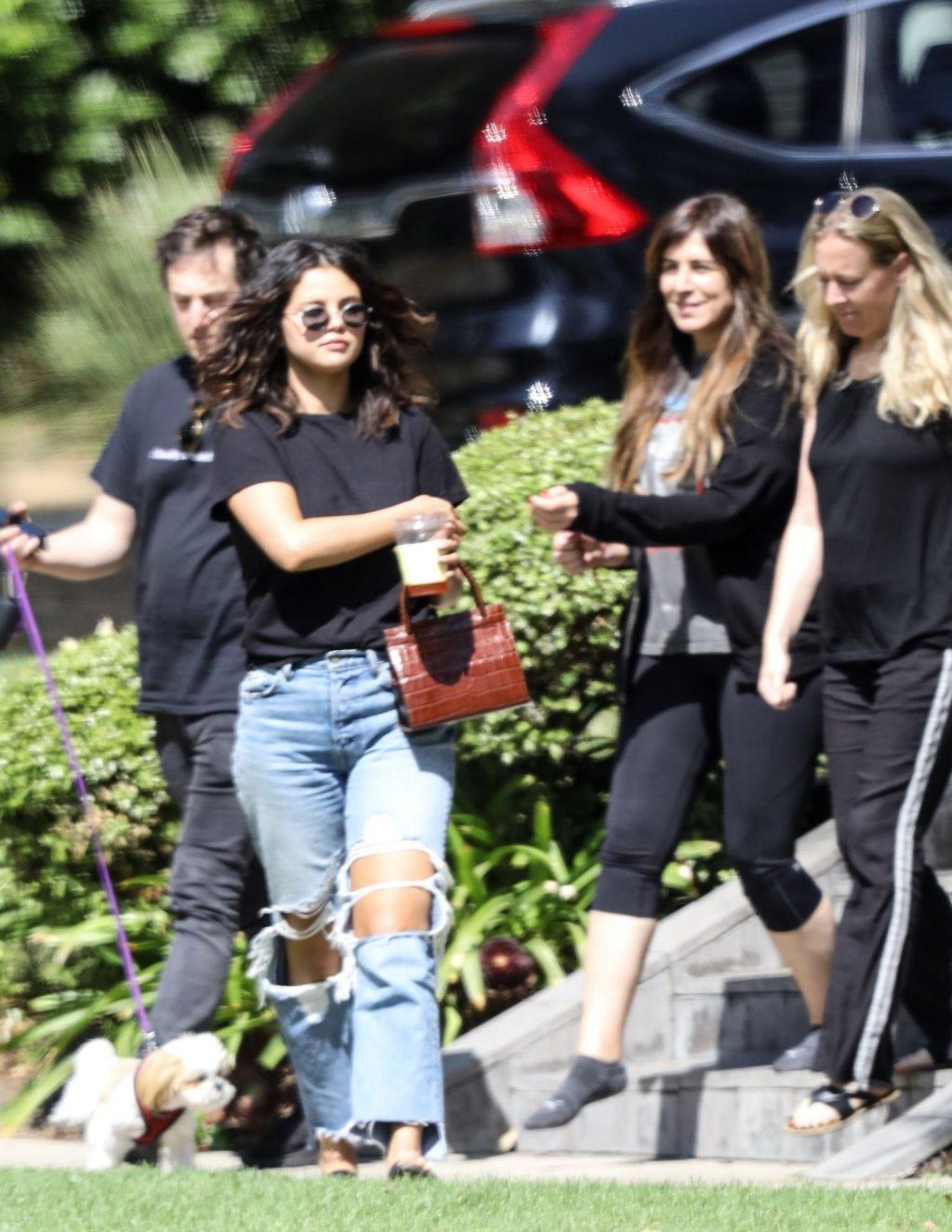 Selena Gomez Braless