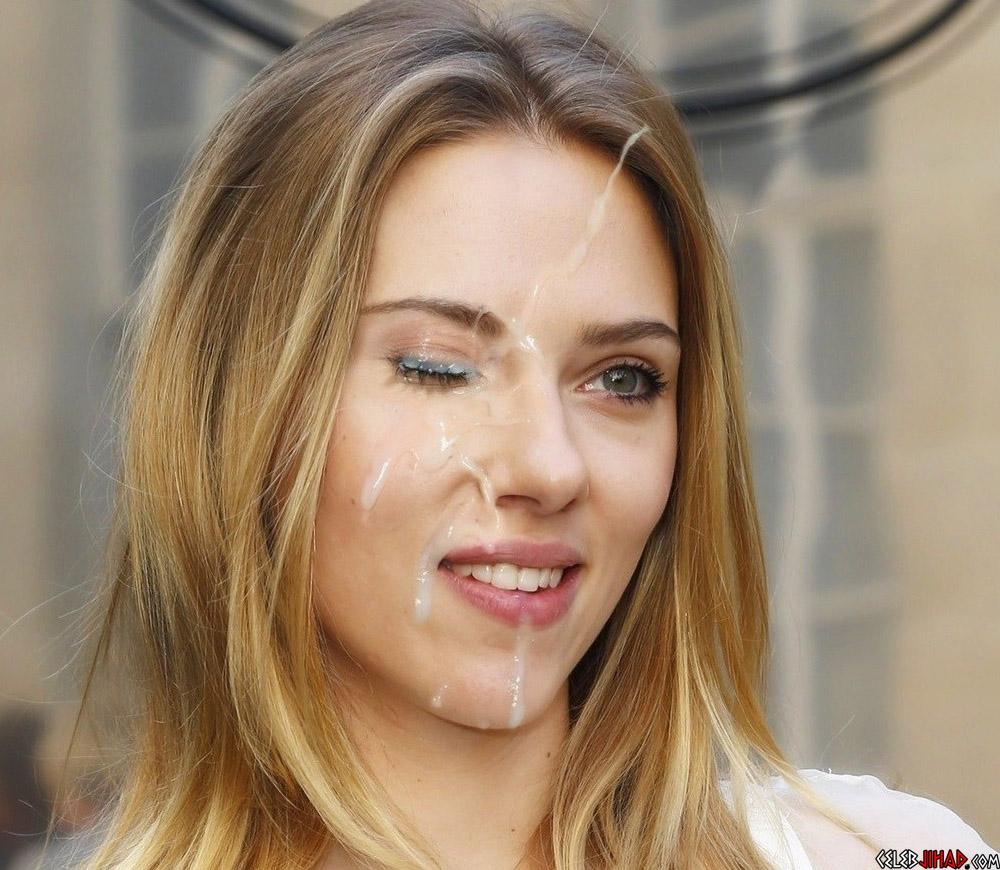 Scarlett Johansson cum
