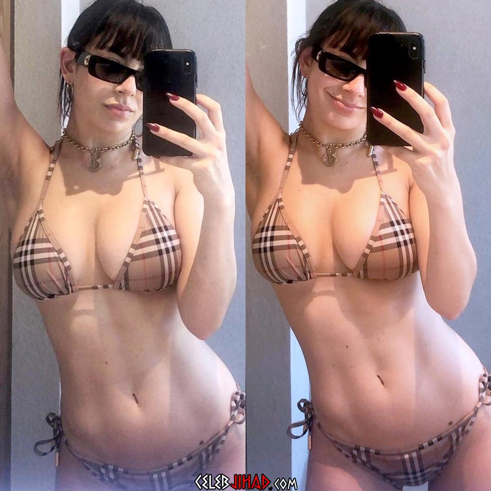 Charli XCX bikini tits