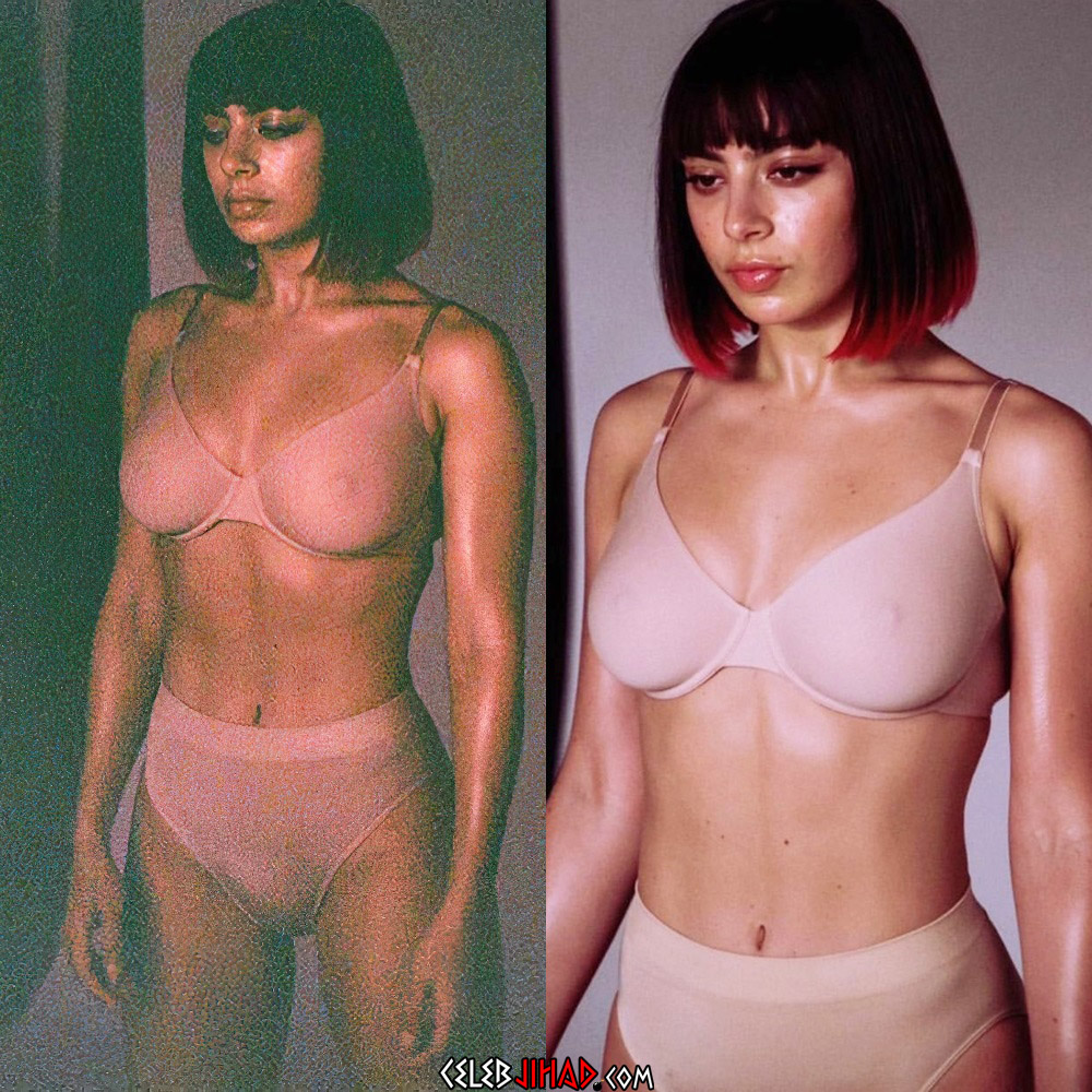 Charli XCX nipples