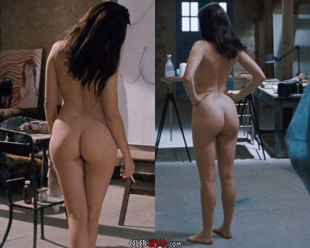 Emmanuelle Béart nude ass
