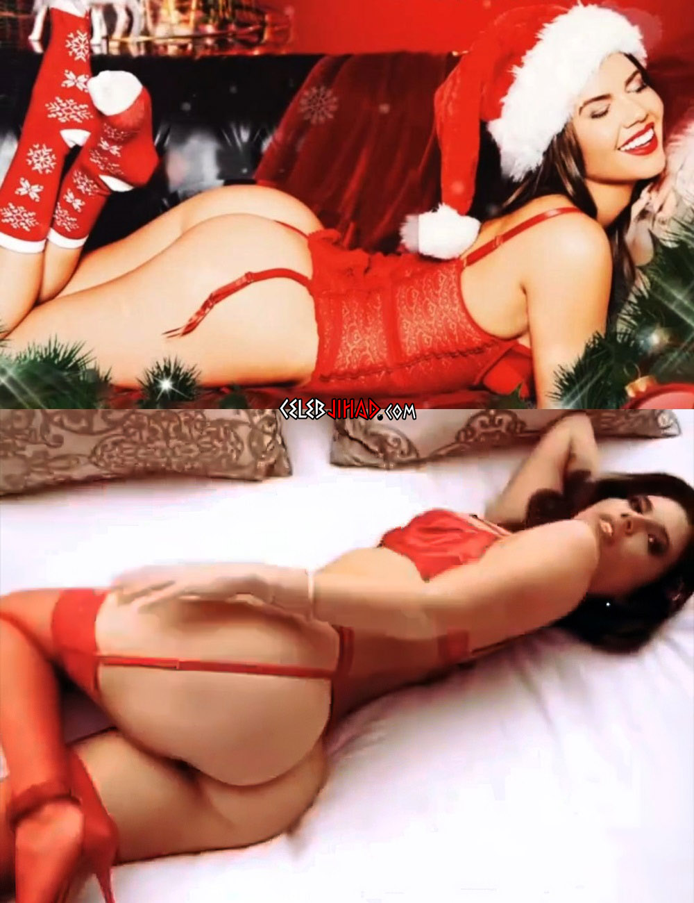 Chanel West Coast Nude Christmas Ass Cheeks