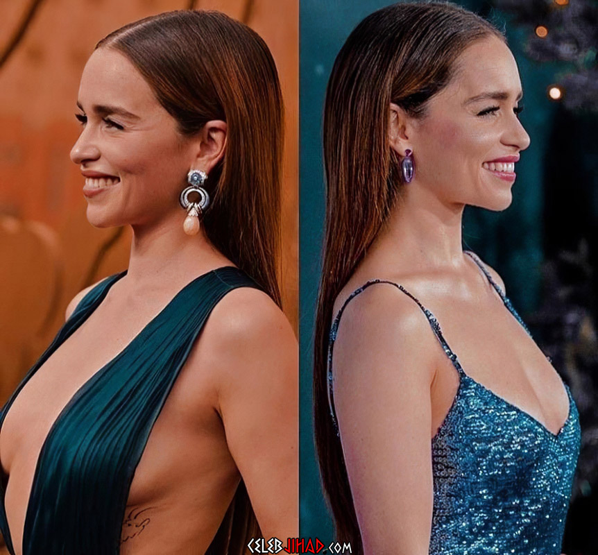 Emilia Clarke cleavage
