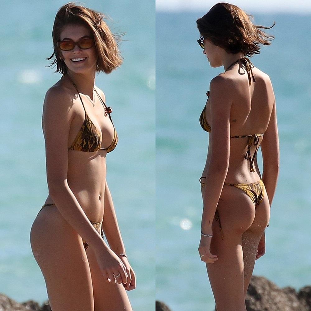 Kaia Gerber bikini