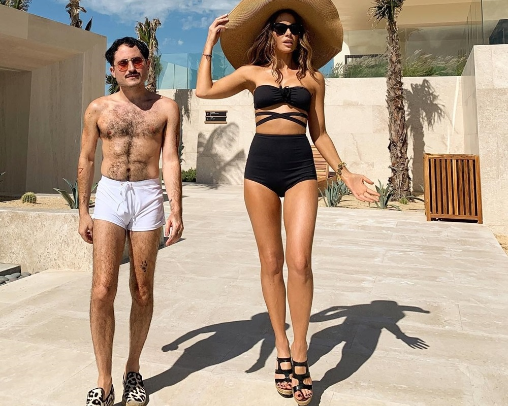 Kate Beckinsale bikini boyfriend