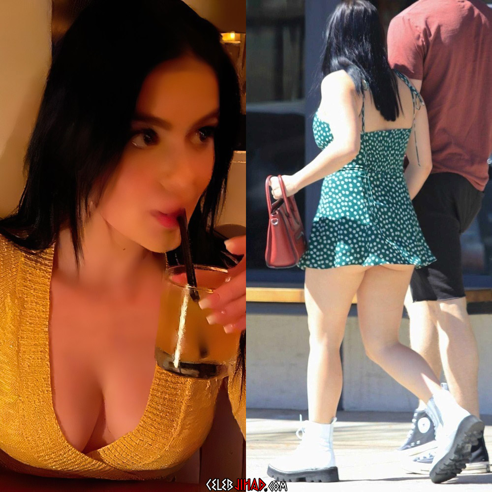 Ariel Winter cleavage ass