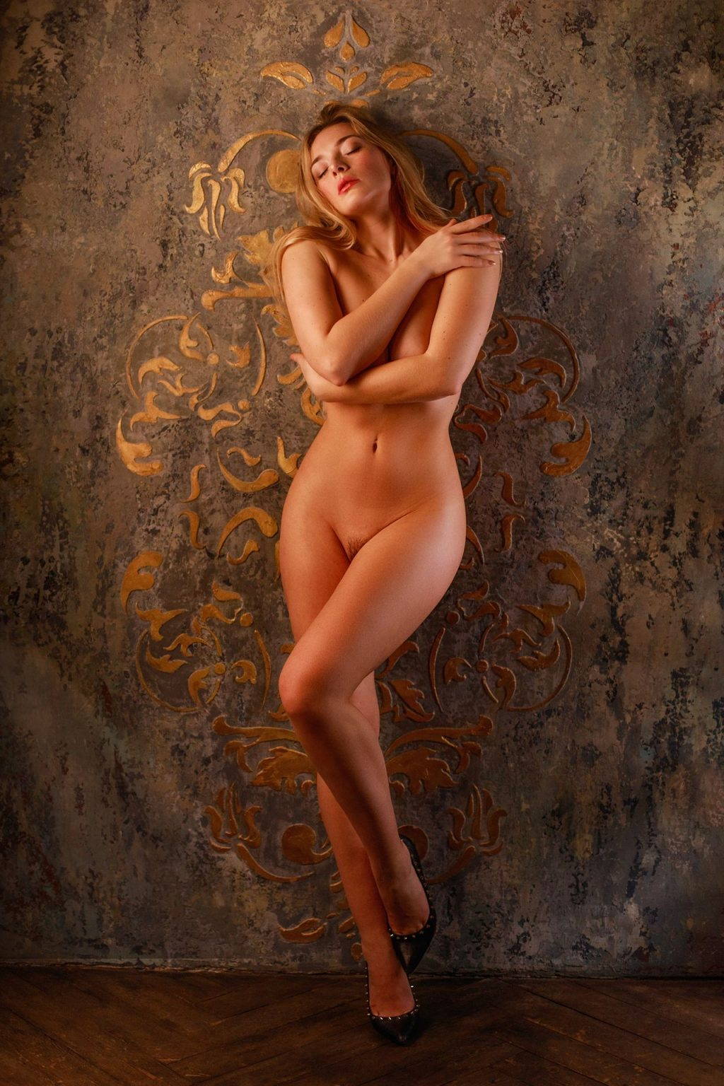 Olga Kobzar Naked (4 Photos)