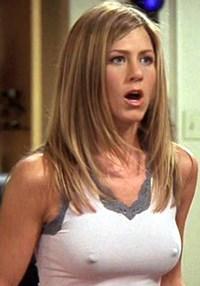 "Jennifer Aniston ""Friends"" Nipple Pokies Ultimate Compilation"