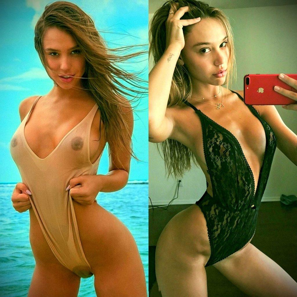 Alexis Ren Naked (5 Photos)