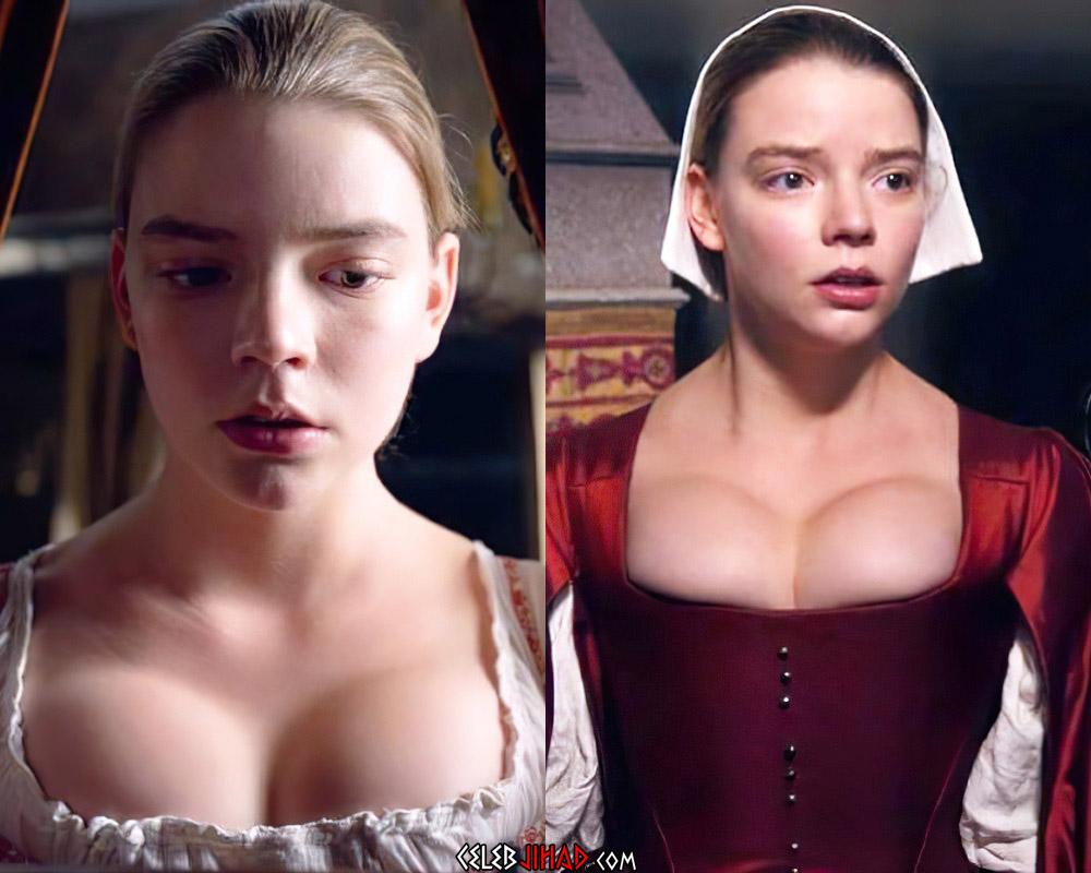 Anya Taylor-Joy sexy boobs
