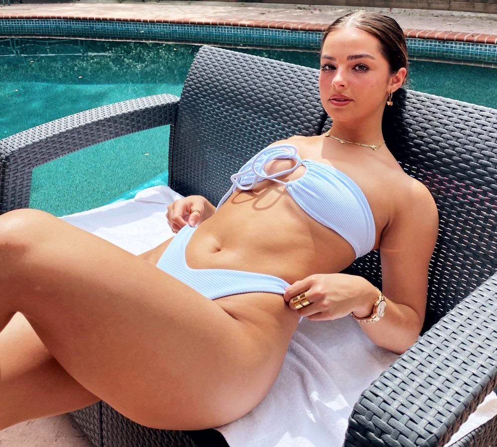 Addison Rae bikini