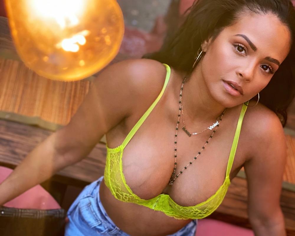 Christina Milian boobs
