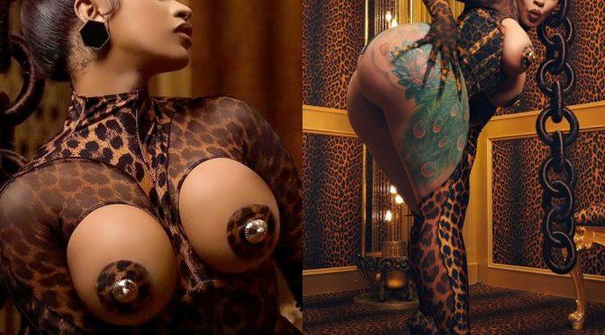 """Cardi B Explicit Nude """"WAP"""" Music Video Uncensored"""