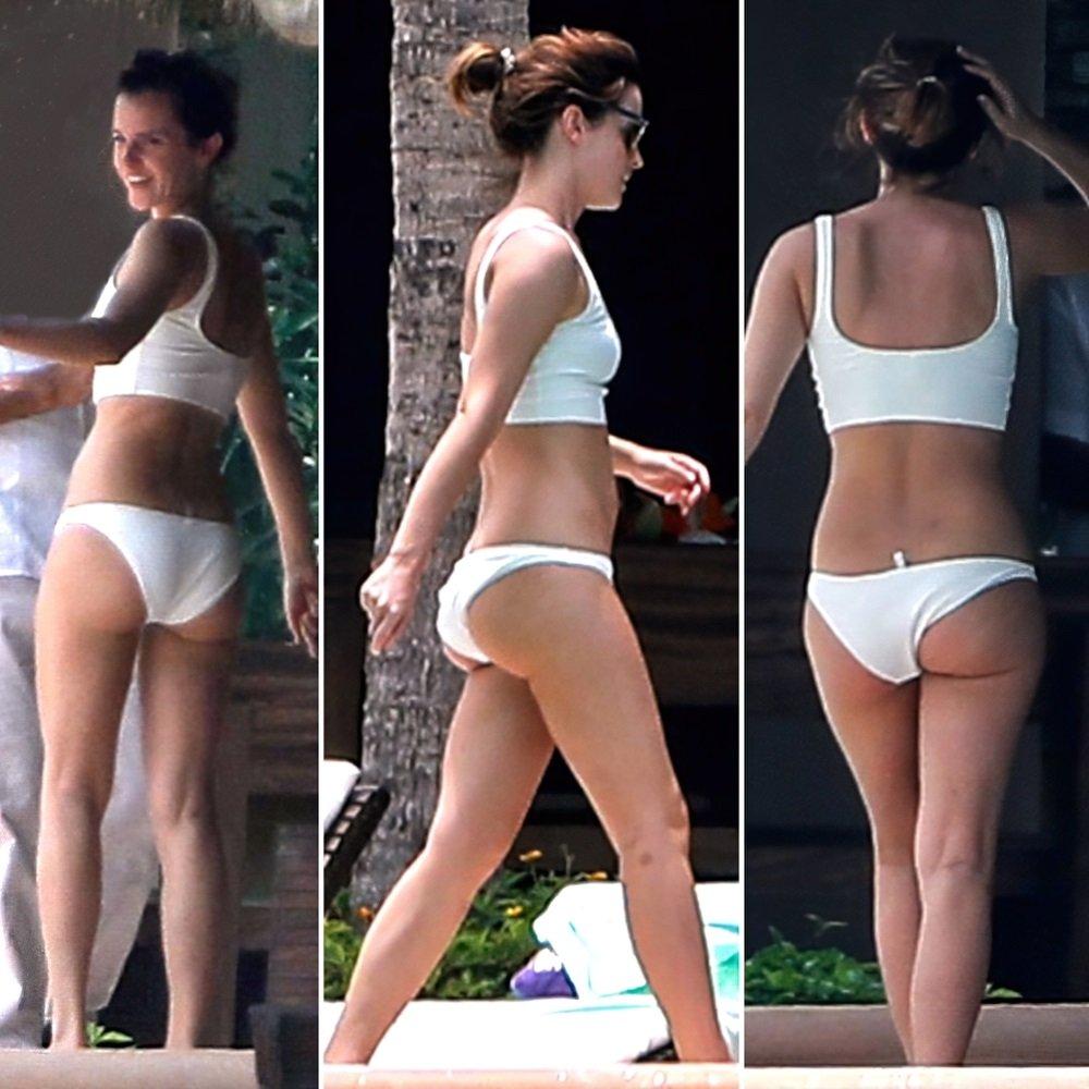 Emma Watson bikini ass