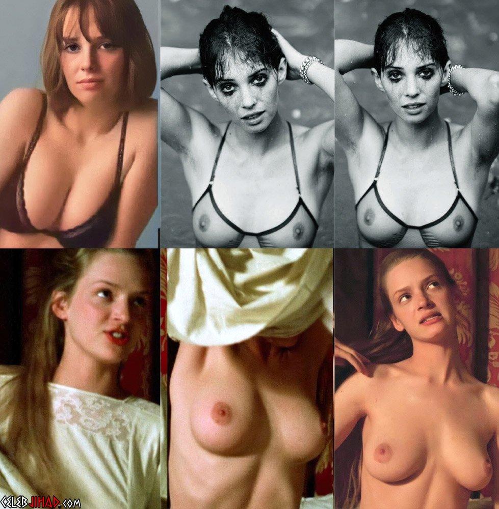 Maya Hawke Uma Thurman nude