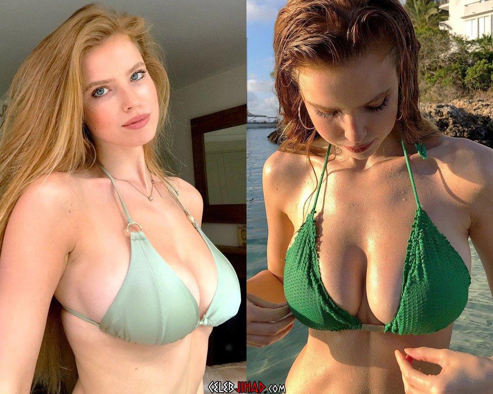 Emily Deyt-Aysage bikini boobs