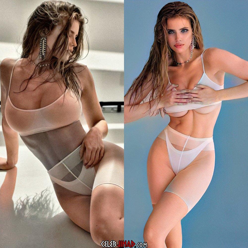 Emily Deyt-Aysage nipples