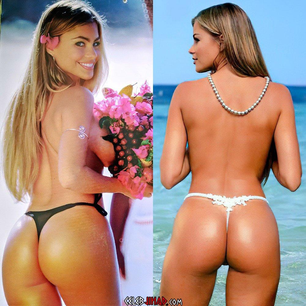 Sofia Vergara ass