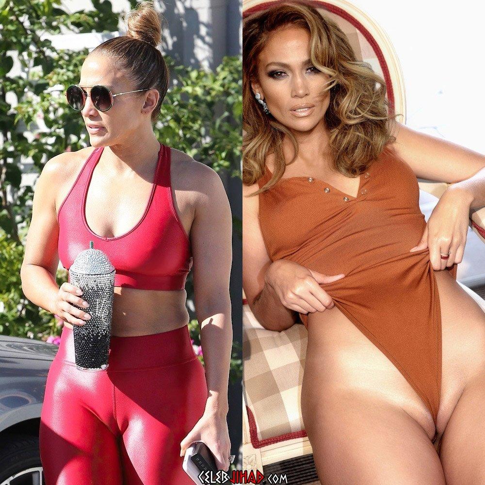 Jennifer Lopez camel toe