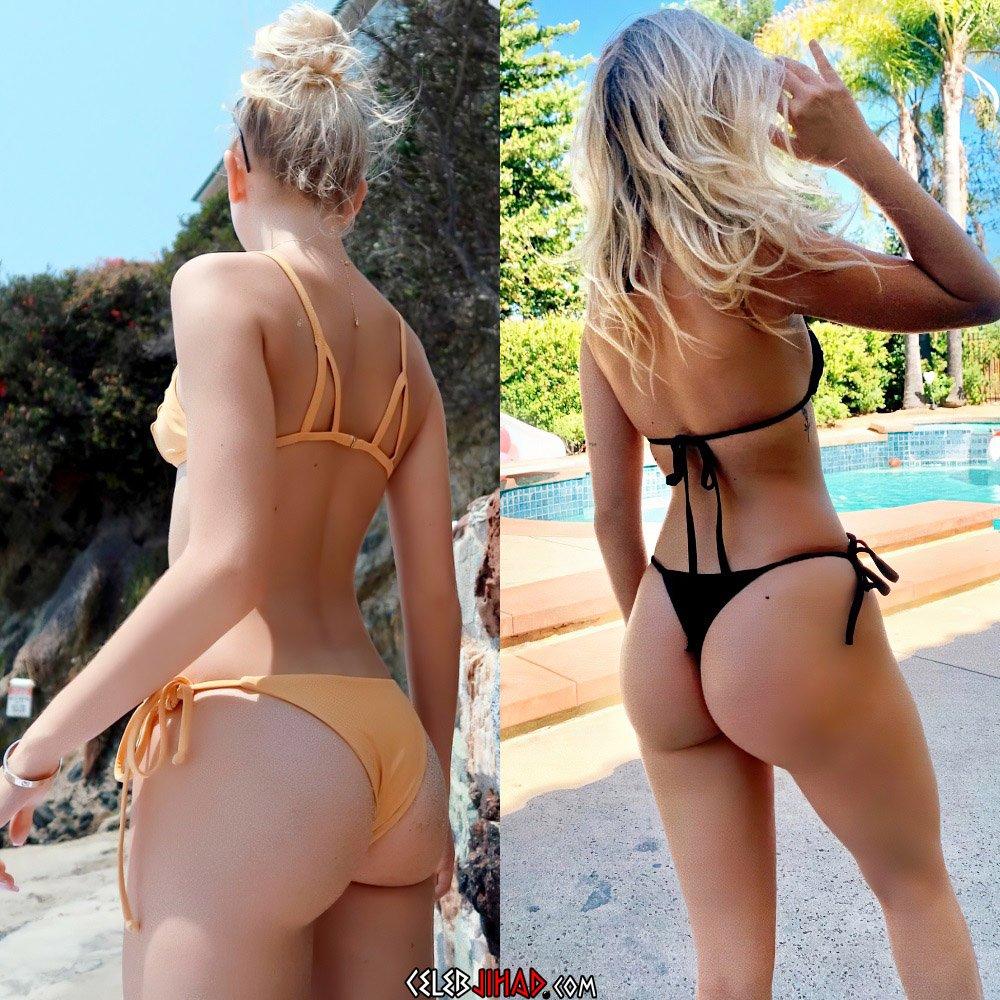 Jordyn Jones ass bikini