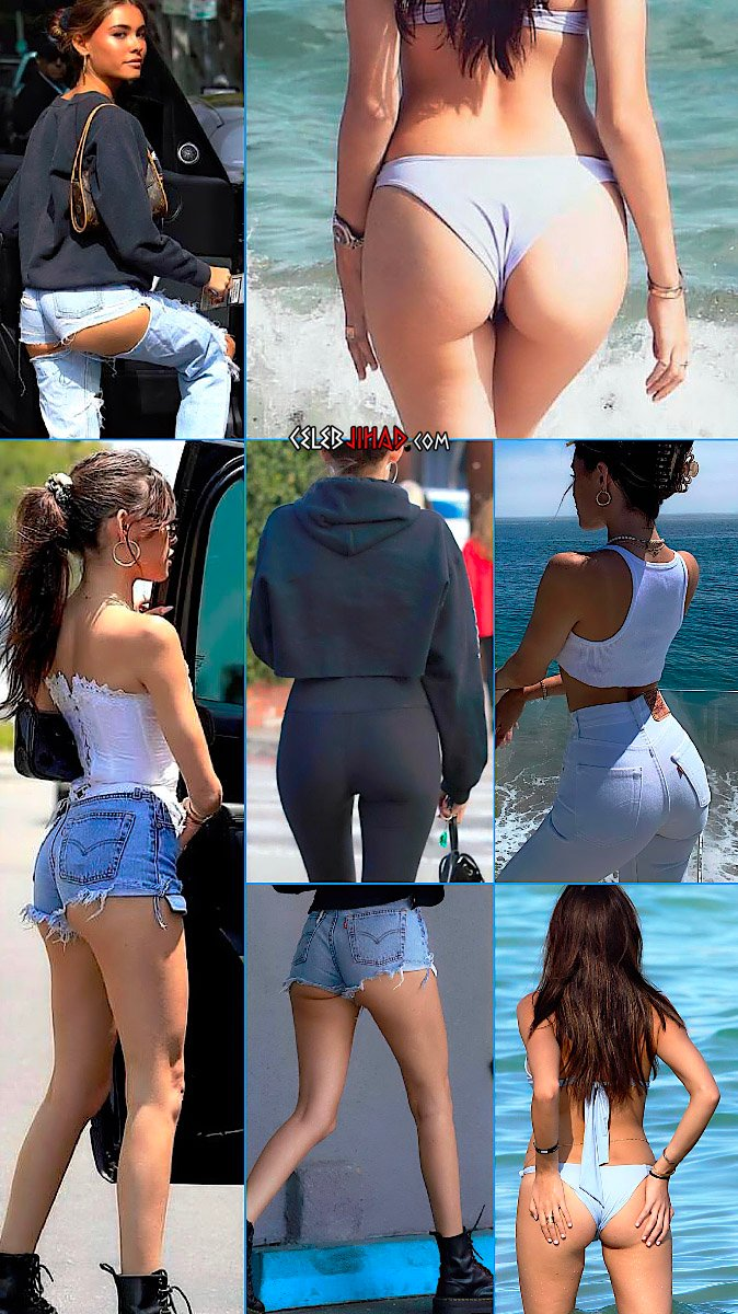 Madison Beer ass