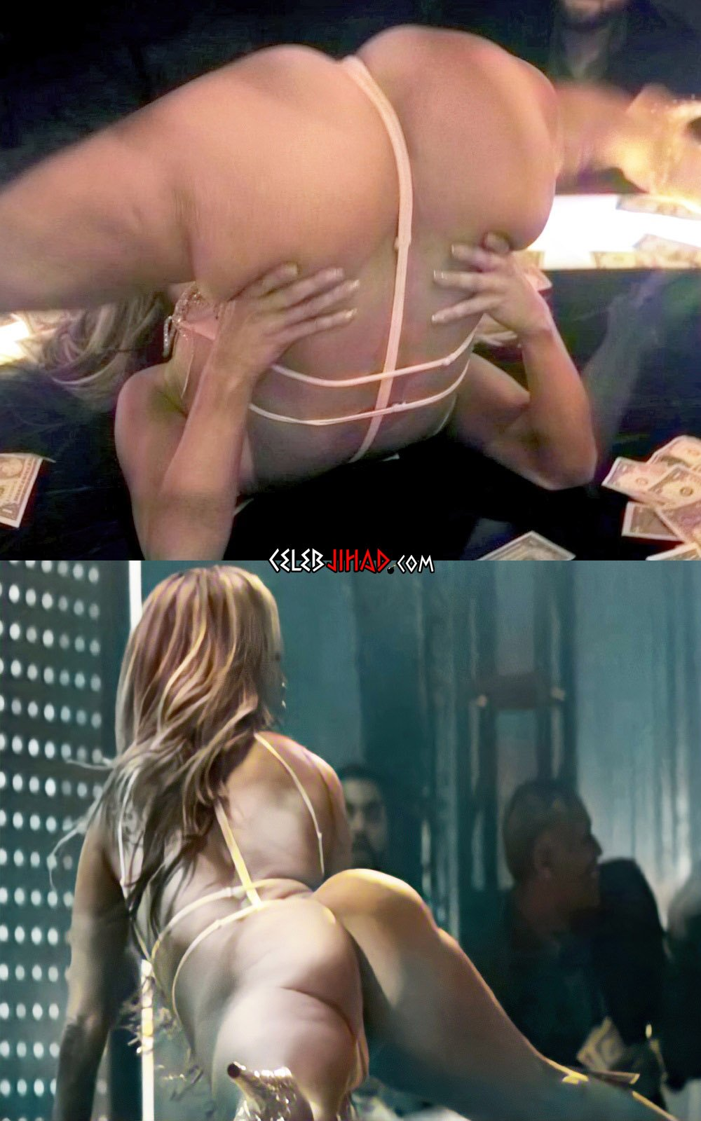 Jennifer Lopez's Ass Crack Examined In Detail