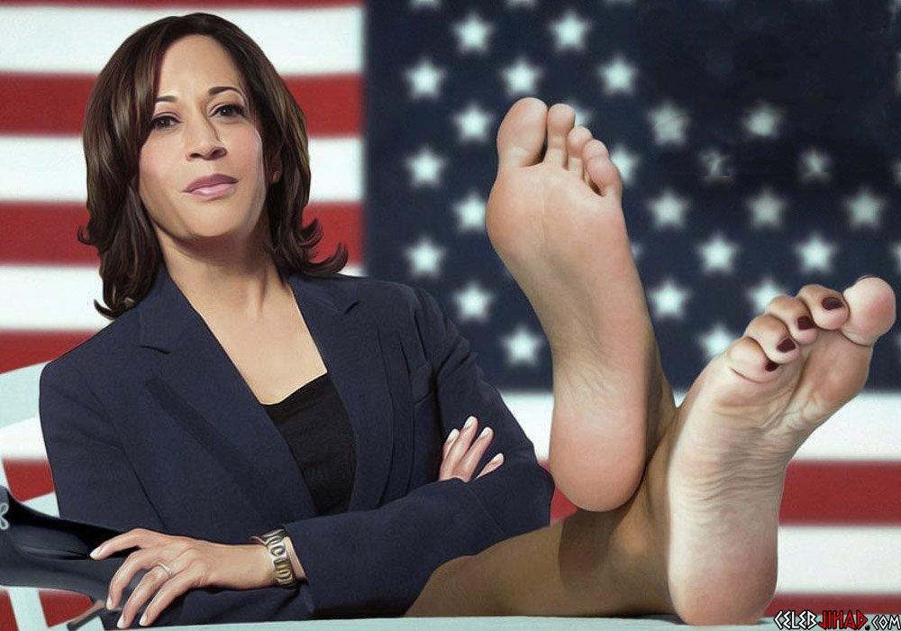 Kamala Harris feet