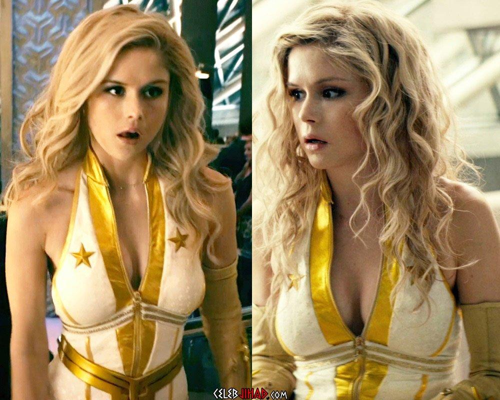 Erin Moritarty sexy costume