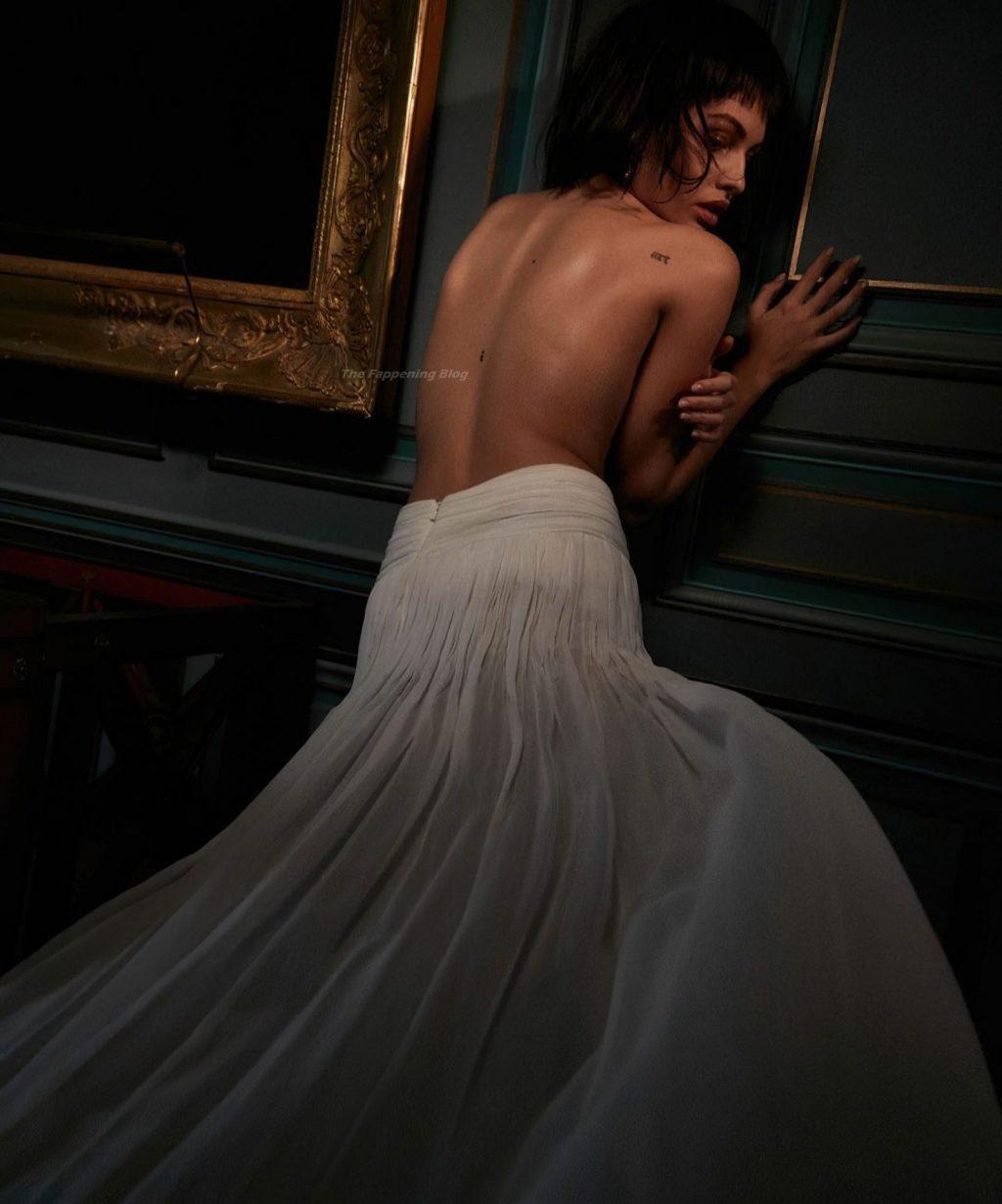 Thylane Blondeau Topless