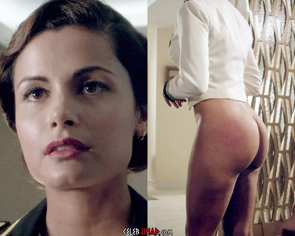 "Catalina Rodriguez Nude Spanking Scene From ""Magic City"""