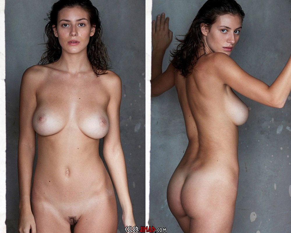 Alejandra Guilmant Fully Nude Outtakes From NU Muses
