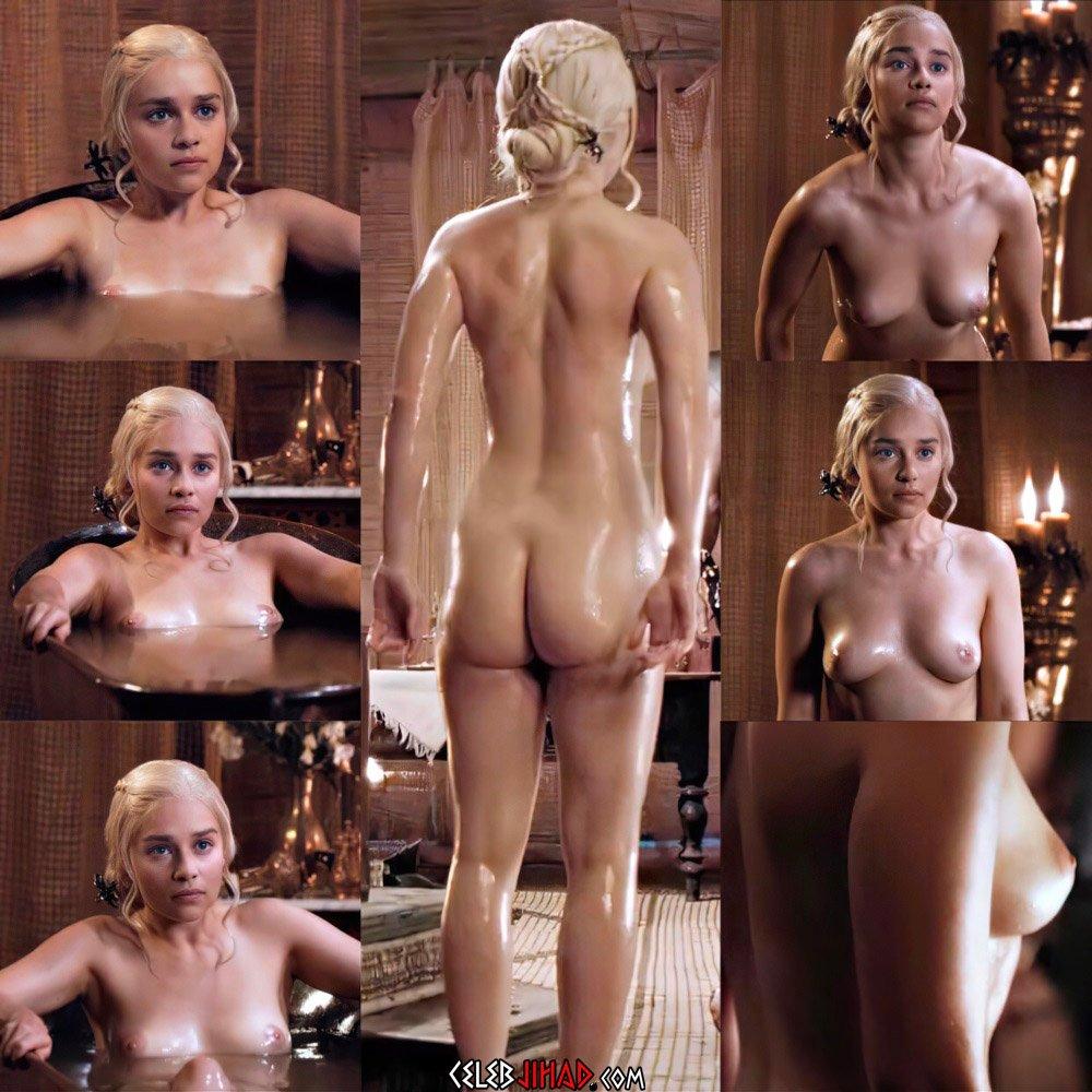Emilia Clarke Nude Masturbation Scene