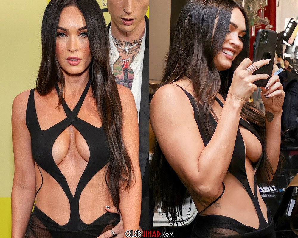 Megan Fox Takes Her Tits Out At The Billboard Music Awards