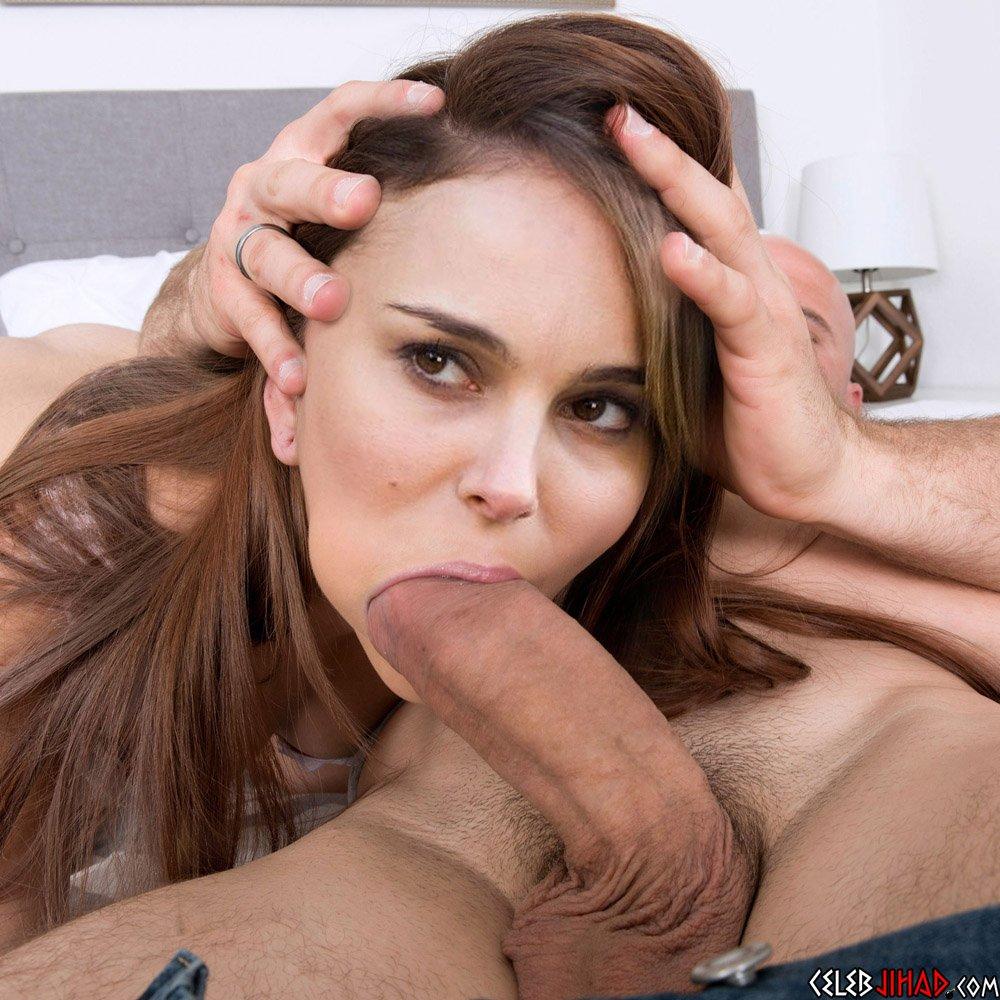 Natalie Portman blowjob
