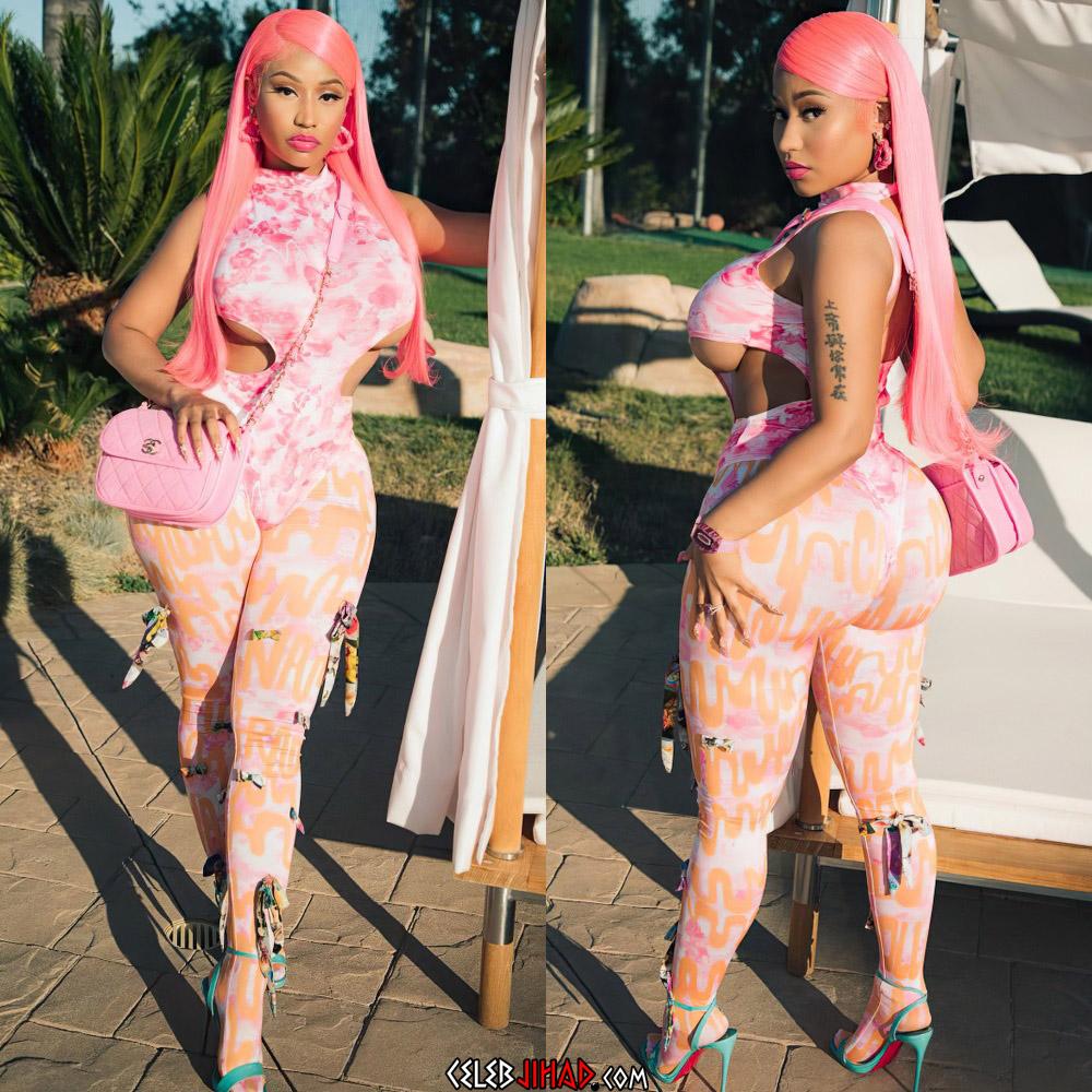Nicki Minaj spandex