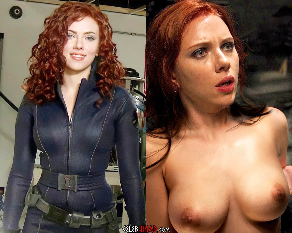 "Scarlett Johansson X-Rated ""Black Widow"" Red Band Trailer"