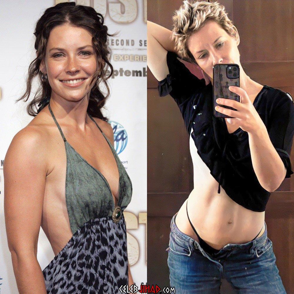 Evangeline Lilly lesbian