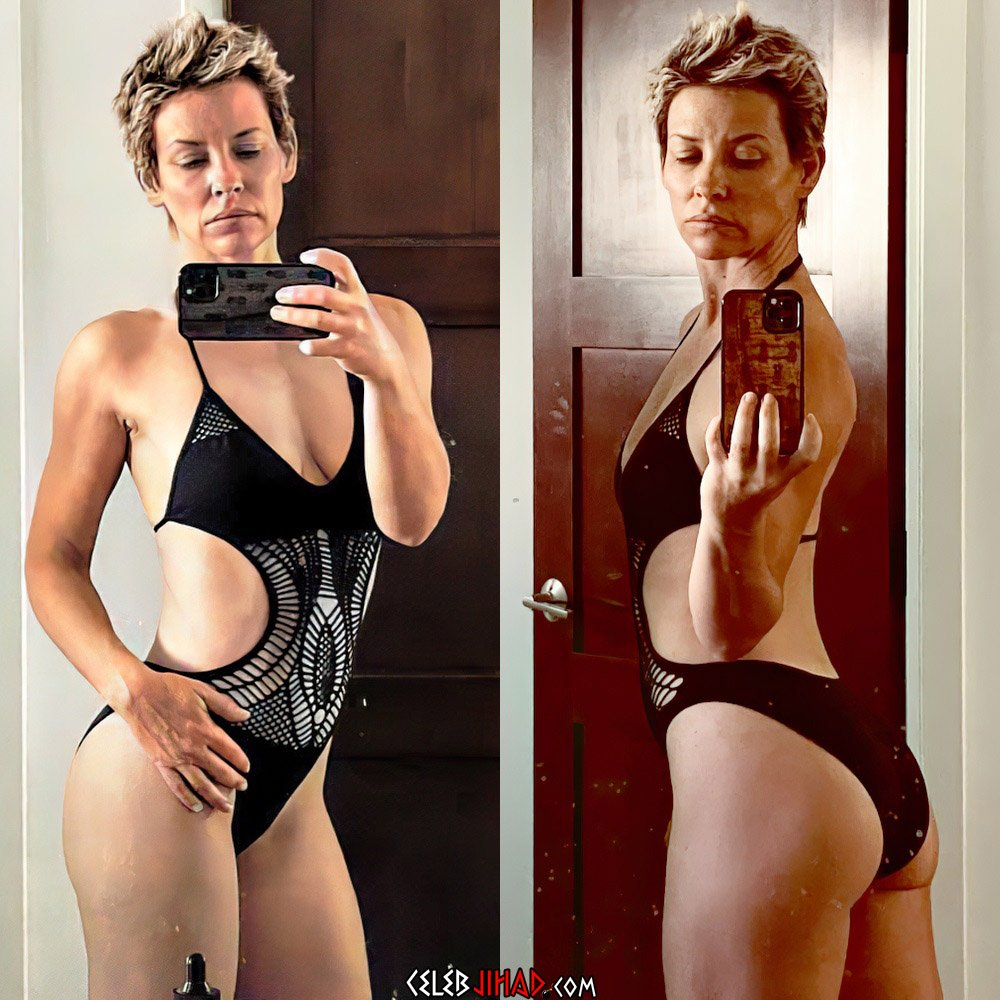 Evangeline Lilly Transformed Into A Crazed Lesbian