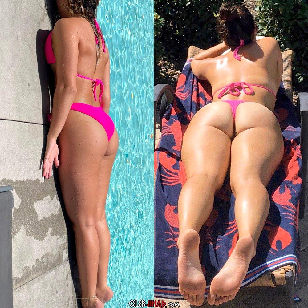Addison Rae ass thong