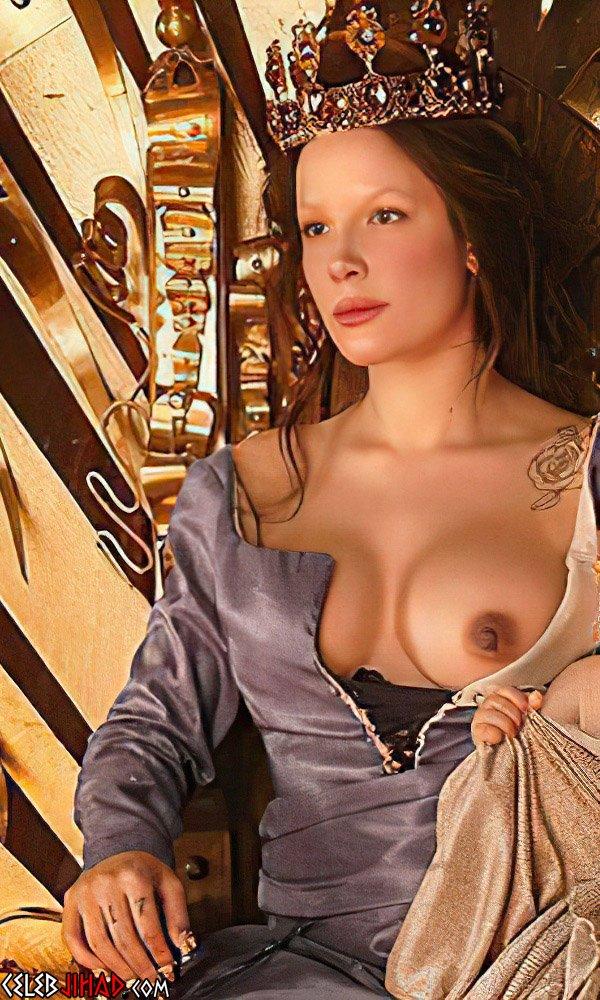 Halsey Nude Tit For Comeback Album