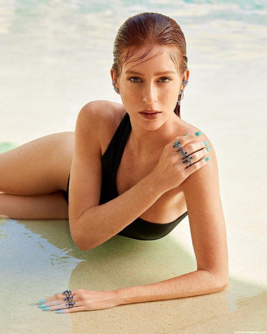 Marina Ruy Barbosa Topless (5 Photos)