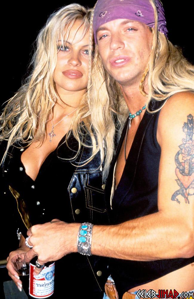 Pamela Anderson Bret Michaels