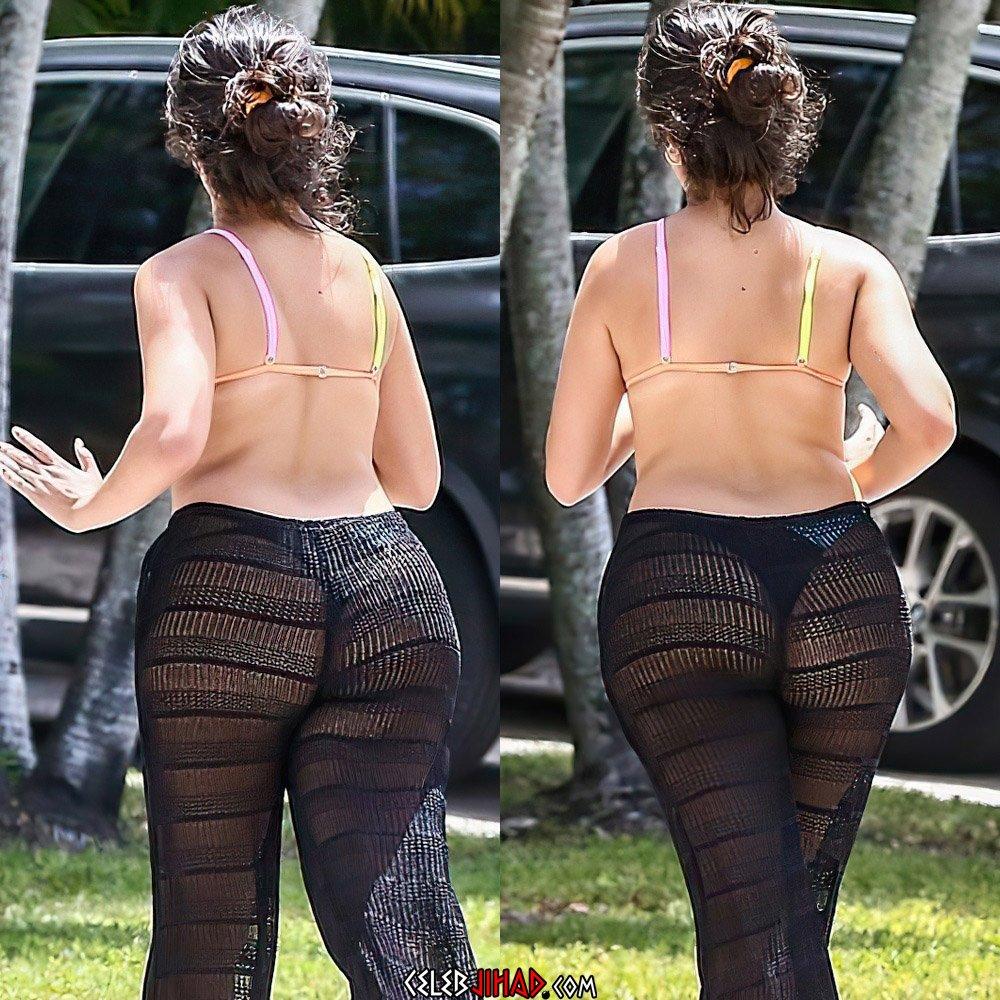 Camila Cabello ass thong