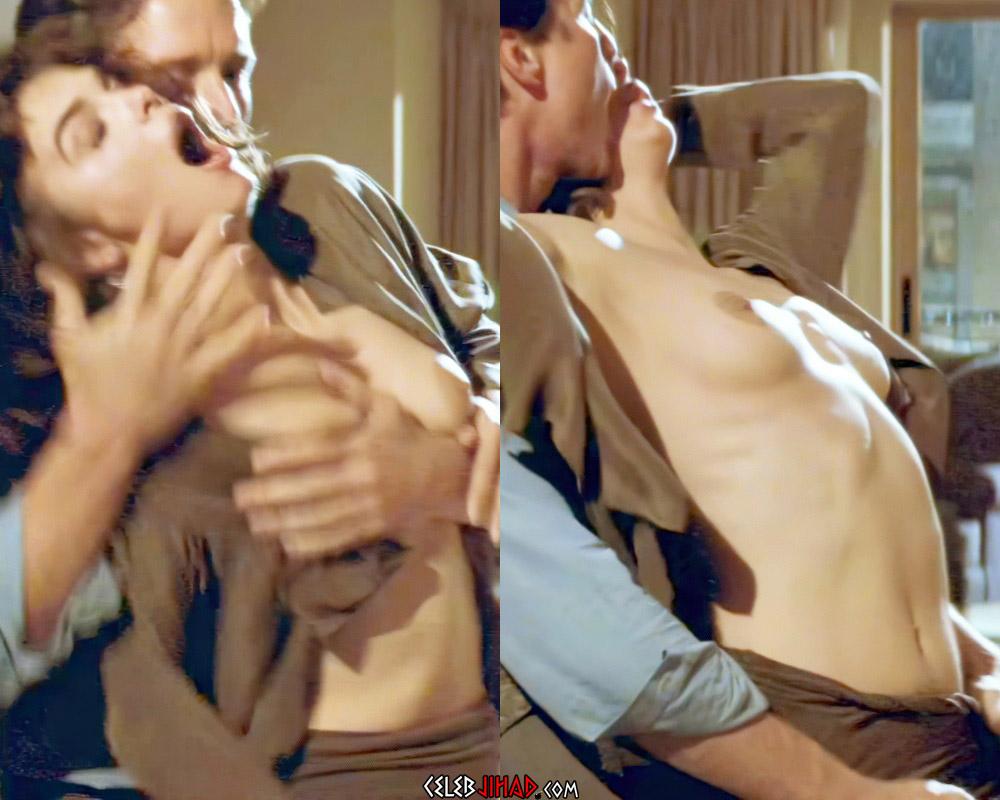 """Jeanne Tripplehorn Nude Sex Scene From """"Basic Instinct"""" Enhanced In 4K"""