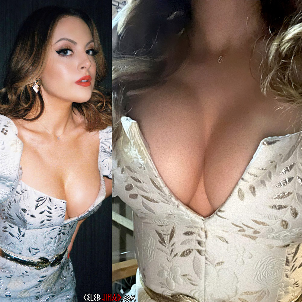 Liz Gillies cleavage