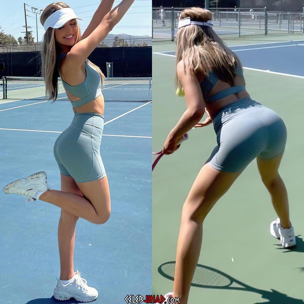 Loren Gray Twerks Her Ass After Winning The US Open