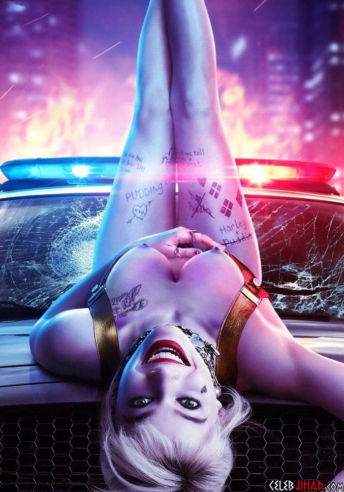 Margot Robbie nude Harley Quinn