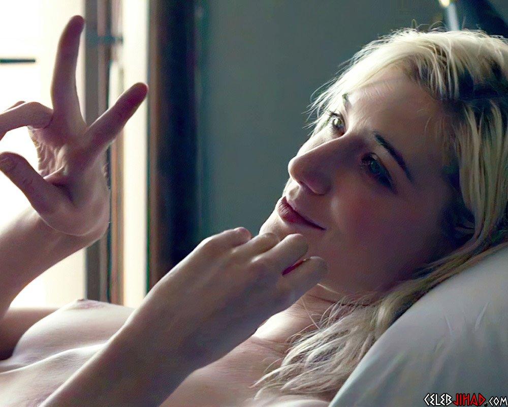 "Elizabeth Debick Nude Sex Scene From ""The Burnt Orange Heresy"""